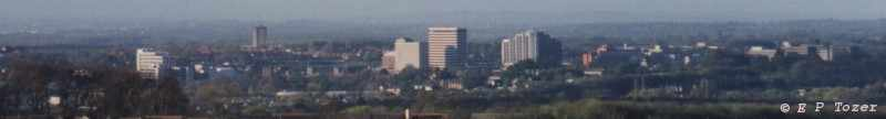 Basingstoke panorama, photo © E.P.Tozer